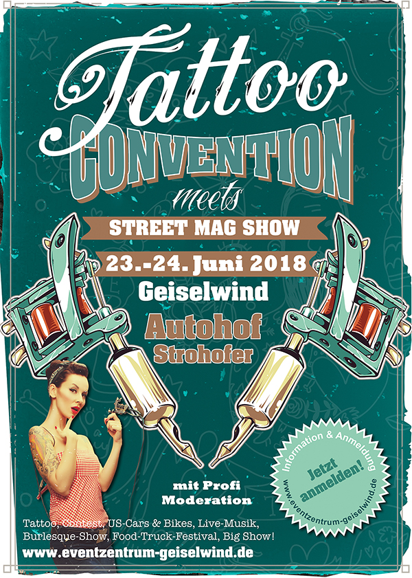 Tattoo Convention 23.-24.06.2017