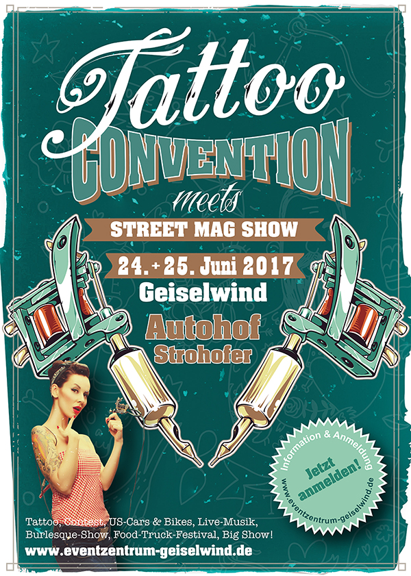 Tattoo Convention 2017 in Geiselwind